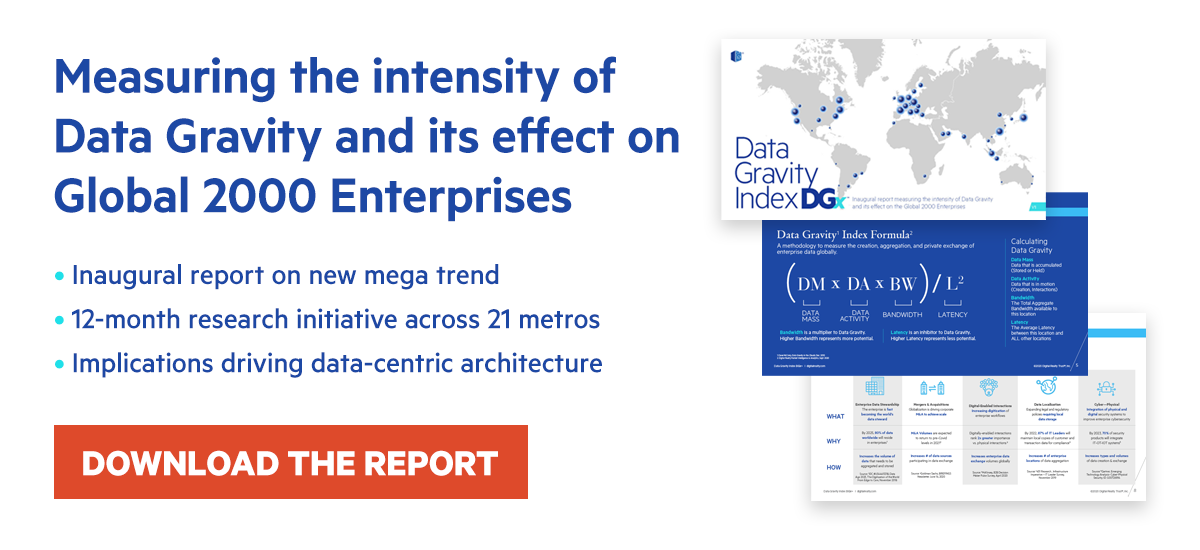 The Data Gravity Index Report