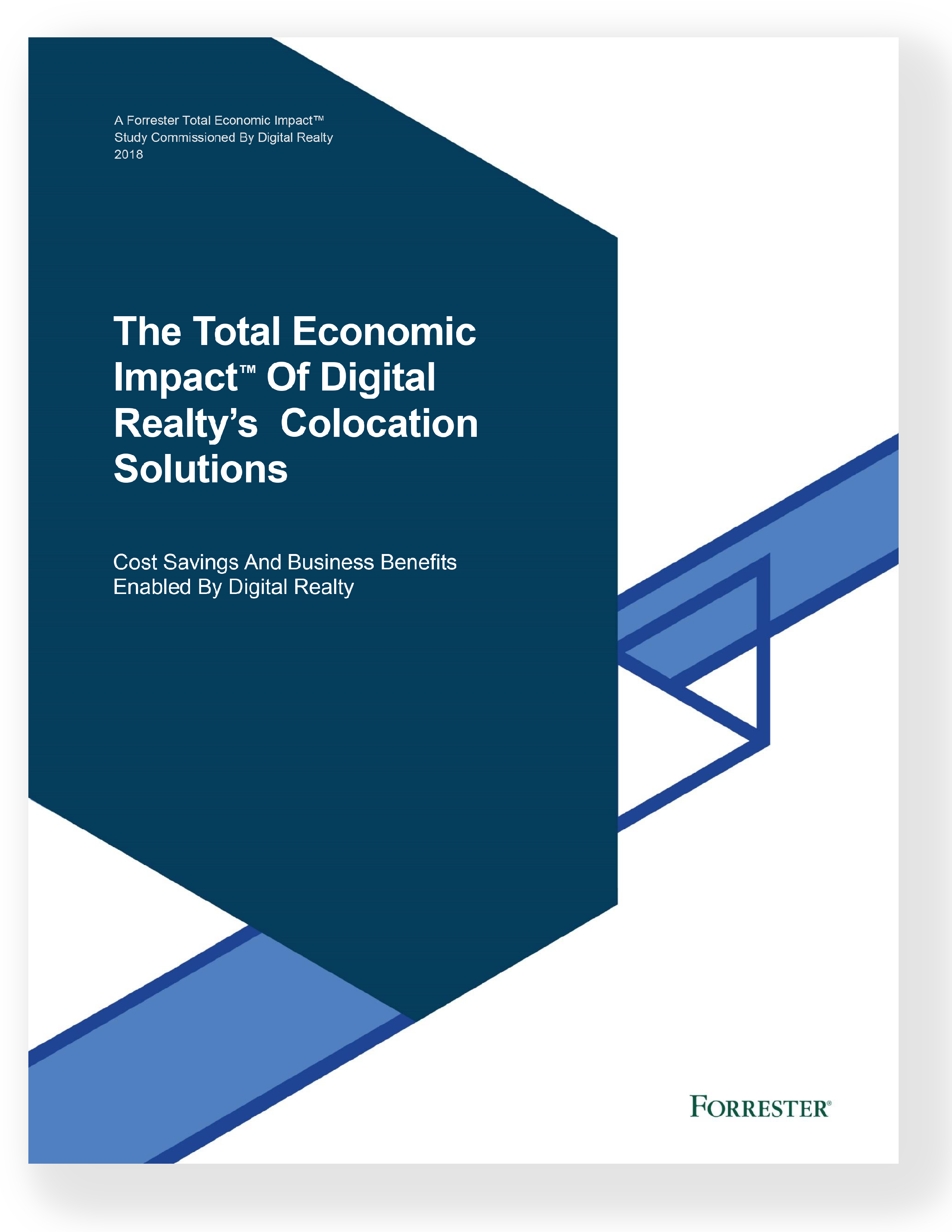 orrester Report: The Total Economic Impact™ of Digital Realty's Colocation Solutions